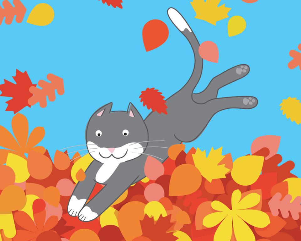 """From """"Fun in the Leaves,"""" a new story available for download now from our Teachers Pay Teacher store!"""